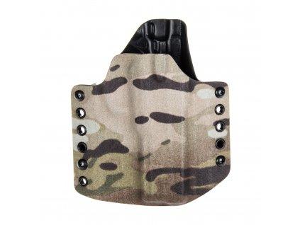 Kydexové pouzdro na zbraň CZ 75 SP-01 Shadow - vnější, multicam/černá