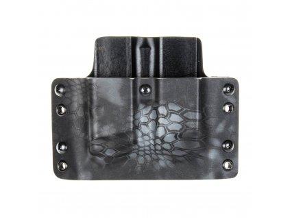 Kydexové pouzdro na zásobníky Glock 17/22/31 - vnější, kryptek typhon/černá