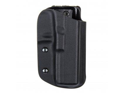 Sportovní kydexové pouzdro na zbraň Glock 17/22/31 - vnější, černá