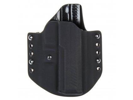 OWB - vnější kydexové pouzdro na SIG Sauer P320 Full-Size - poloviční sweatguard - ns - černá/černá