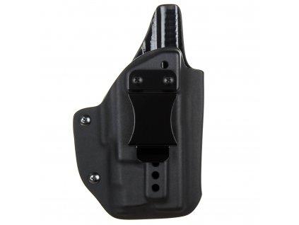 IWB - Glock 19/23/32 - Glock 19X/45 + Inforce APLc - vnitřní kydexové pouzdro - plný sweatguard - ns - černá