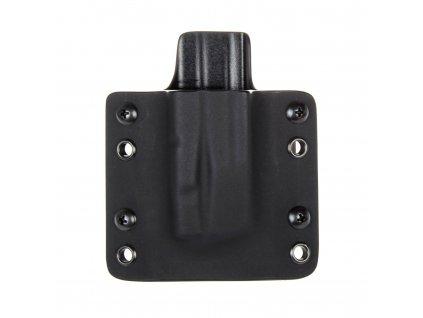 OWB - vnější kydexové pouzdro na 1 zásobník SIG Sauer P320 - plný sweatguard - černá/černá