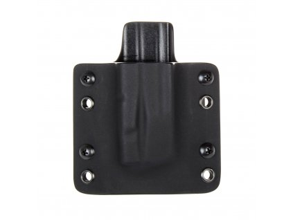 OWB - SIG Sauer P320 - vnější kydexové pouzdro na 1 zásobník - plný sweatguard - černá/černá