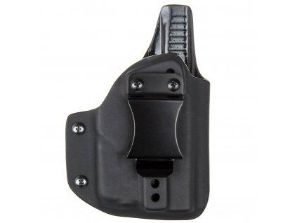 IWB - vnitřní kydexové pouzdro na Glock 43 + Streamlight TLR-6 - plný sweatguard - ns - černá
