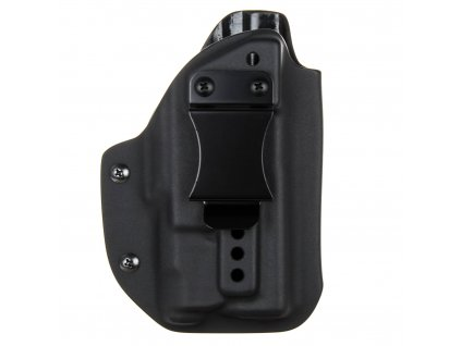 IWB - vnitřní kydexové pouzdro na Glock 19/23/32 + Inforce APLc - poloviční sweatguard - ns - černá