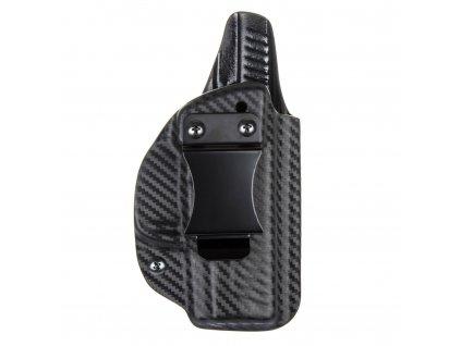 IWB - vnitřní kydexové pouzdro na Walther PPS M2 - plný sweatguard - ns - carbon