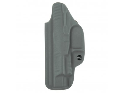 """IWB - vnitřní kydexové pouzdro na Walther PPQ 5"""" - plný sweatguard - ns - u - tmavě šedá"""