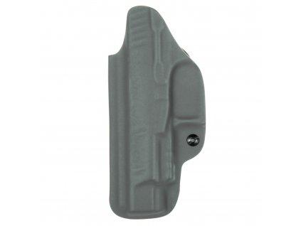 """IWB - Walther PPQ 5"""" - vnitřní kydexové pouzdro - plný sweatguard - ns - tmavě šedá"""