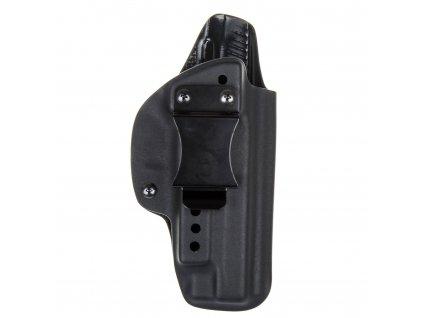 IWB - SIG Sauer P226 s railem - vnitřní kydexové pouzdro - plný sweatguard - ns - černá