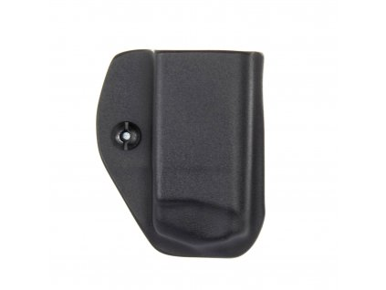 IWB - Glock 26/27 - vnitřní kydexové pouzdro na 1 zásobník - bez sweatguardu - černá