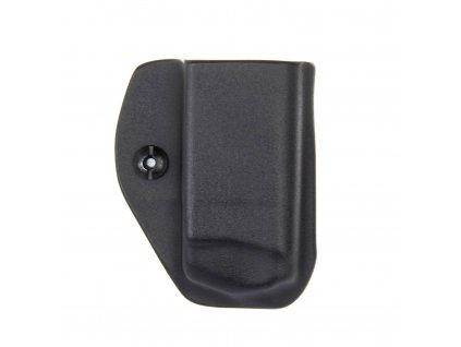 IWB - vnitřní kydexové pouzdro na 1 zásobník Glock 26/27 - bez sweatguardu - černá