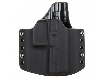 OWB - Beretta APX - vnější kydexové pouzdro - poloviční sweatguard - černá/černá