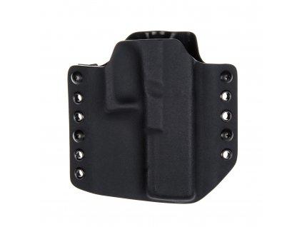 Kydexové pouzdro na zbraň Glock 17/22/31 bez sweatguardu - vnější, černá