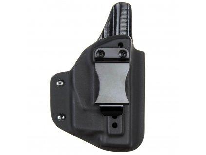 IWB - Glock 19/23/32 - Glock 19X/45 + Streamlight TLR-6 - vnitřní kydexové pouzdro - plný sweatguard - ns - černá