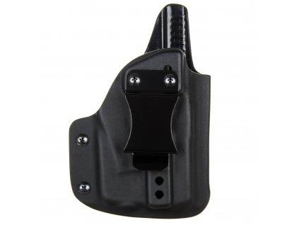 IWB - vnitřní kydexové pouzdro na Glock 26/27 + Streamlight TLR-6 - plný sweatguard - ns - černá