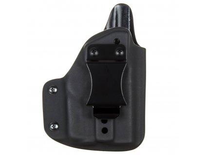 IWB - vnitřní kydexové pouzdro na Glock 42 + Streamlight TLR-6 - plný sweatguard - ns - černá