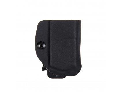 IWB - Glock 43 - vnitřní kydexové pouzdro na 1 zásobník - bez sweatguardu - černá