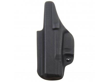 IWB - vnitřní kydexové pouzdro na Glock 30 - plný sweatguard - ns - černá