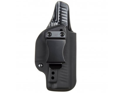 IWB - vnitřní kydexové pouzdro na Walther PPQ .45 ACP - plný sweatguard - ns - černá