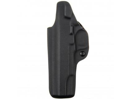IWB - vnitřní kydexové pouzdro na Colt 1911 - plný sweatguard - ns - černá