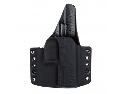 OWB - Walther PPQ M1/M2 - vnější kydexové pouzdro - plný sweatguard - černá/černá