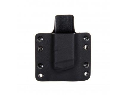 OWB - Glock 43 - vnější kydexové pouzdro na 1 zásobník - plný sweatguard - černá/černá