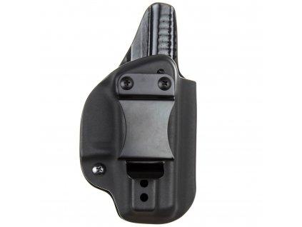 IWB - vnitřní kydexové pouzdro na Glock 26/27 - plný sweatguard - ns - černá
