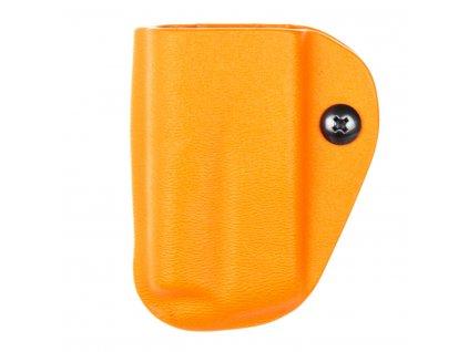 IPSC - CZ 75 - sportovní kydexové pouzdro na 1 zásobník - oranžová