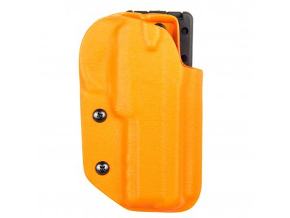 IPSC - sportovní kydexové pouzdro na CZ 75 SP-01 Shadow - oranžová