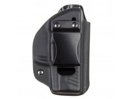IWB - vnitřní kydexové pouzdro na Walther PPS M2 - poloviční sweatguard - ns - černá