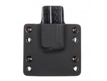 OWB - Walther PPS M1/M2 - vnější kydexové pouzdro na 1 zásobník - plný sweatguard - černá/černá