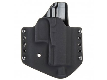 OWB - Walther PPQ M2 Navy - vnější kydexové pouzdro - poloviční sweatguard - černá/černá