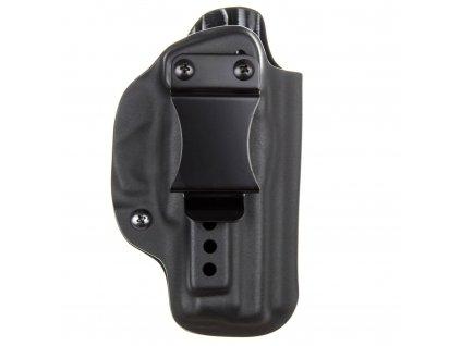IWB - vnitřní kydexové pouzdro na CZ 75 D Compact - poloviční sweatguard - ns - černá