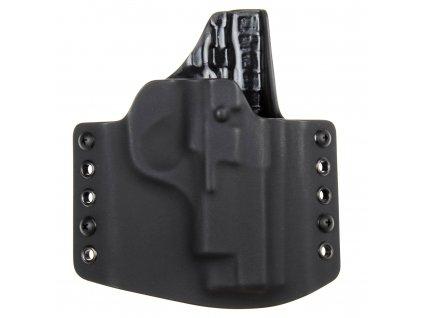 OWB - CZ TT 45 - vnější kydexové pouzdro - poloviční sweatguard - černá/černá