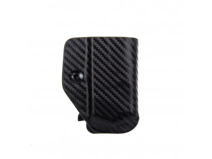 IWB - Glock 43 - vnitřní kydexové pouzdro na 1 zásobník - bez sweatguardu - carbon
