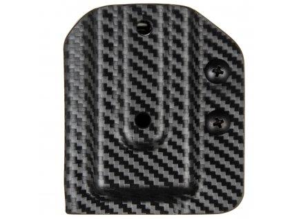 IPSC - CZ 75 - CZ P-10 C/F - sportovní kydexové pouzdro na 1 zásobník - carbon