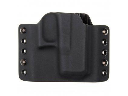 OWB - vnější kydexové pouzdro na Glock 26/27 - bez sweatguardu - černá/černá