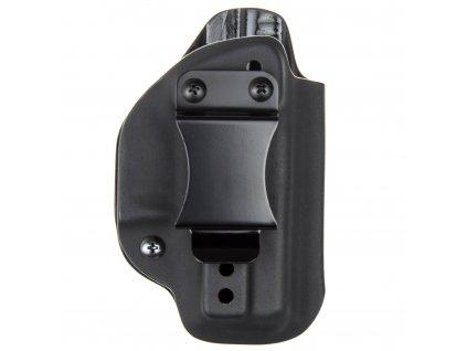 IWB - vnitřní kydexové pouzdro na Glock 26/27 - poloviční sweatguard - ns - černá
