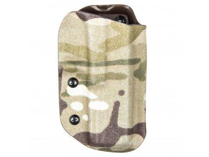 TAC - Glock 17/22/31 - taktické kydexové pouzdro - multicam