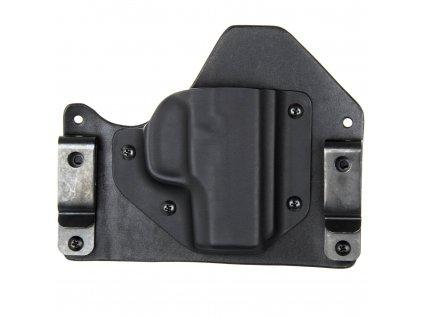 H/IWB - Walther PPS M2 - hybridní vnitřní kydexové pouzdro - poloviční sweatguard - černá