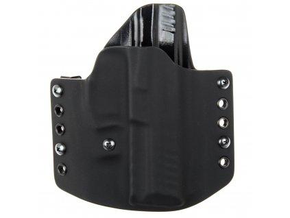 OWB - Heckler & Koch SFP9 - vnější kydexové pouzdro - poloviční sweatguard - ns - černá/černá