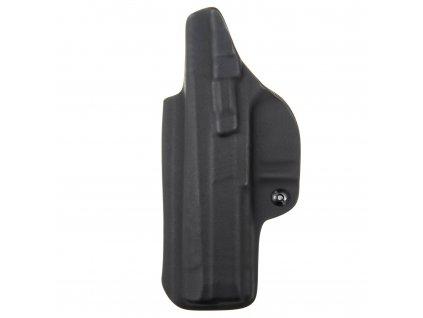 IWB - CZ P-09 - vnitřní kydexové pouzdro - plný sweatguard - ns - černá