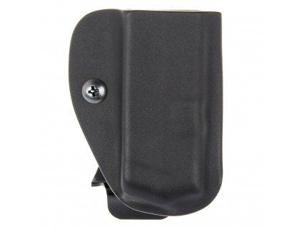 IWB - vnitřní kydexové pouzdro na 1 zásobník Glock 42 - bez sweatguardu - černá