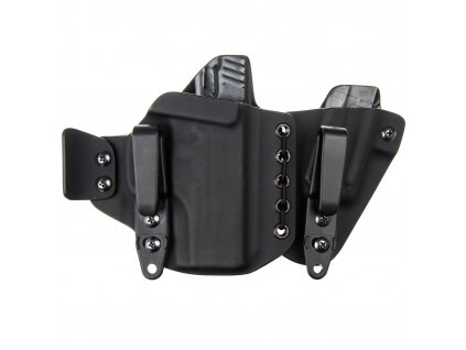 AIWB - Walther PPS M2 + zásobník - appendix vnitřní kydexové pouzdro - poloviční/plný sweatguard - ns - černá