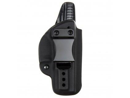 IWB - vnitřní kydexové pouzdro na Glock 17/22/31 - plný sweatguard - ns - černá
