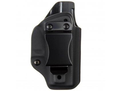 IWB - vnitřní kydexové pouzdro na Glock 43X - poloviční sweatguard - ns - černá