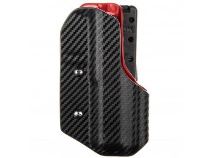 IPSC DL - CZ Shadow 2 - sportovní kydexové pouzdro - carbon/červená