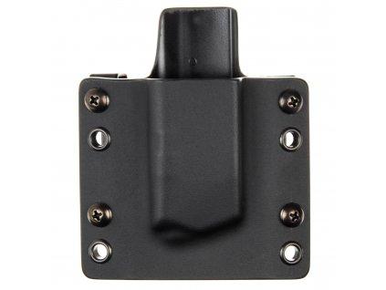 OWB - Glock 43X/48 - vnější kydexové pouzdro na 1 zásobník - plný sweatguard - černá/černá