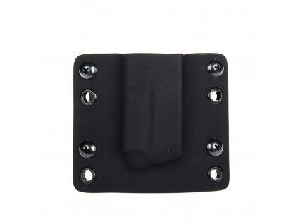 Kydexové pouzdro na zásobník Grand Power K100 bez sweatguardu - vnější, černá