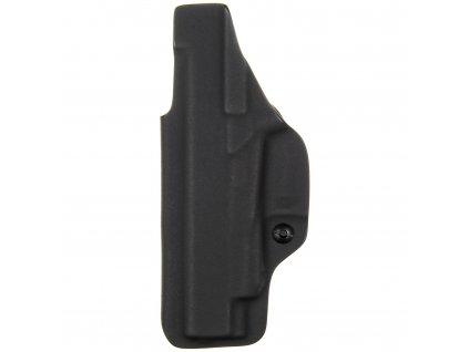 IWB - Glock 48 Rail - vnitřní kydexové pouzdro - plný sweatguard - ns - černá